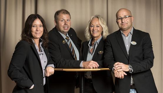 Anna, Roger, Ulla-Stina och Alf