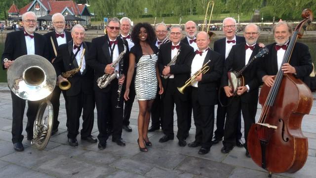 Caroline Wennergren med Vintage Jazz Band
