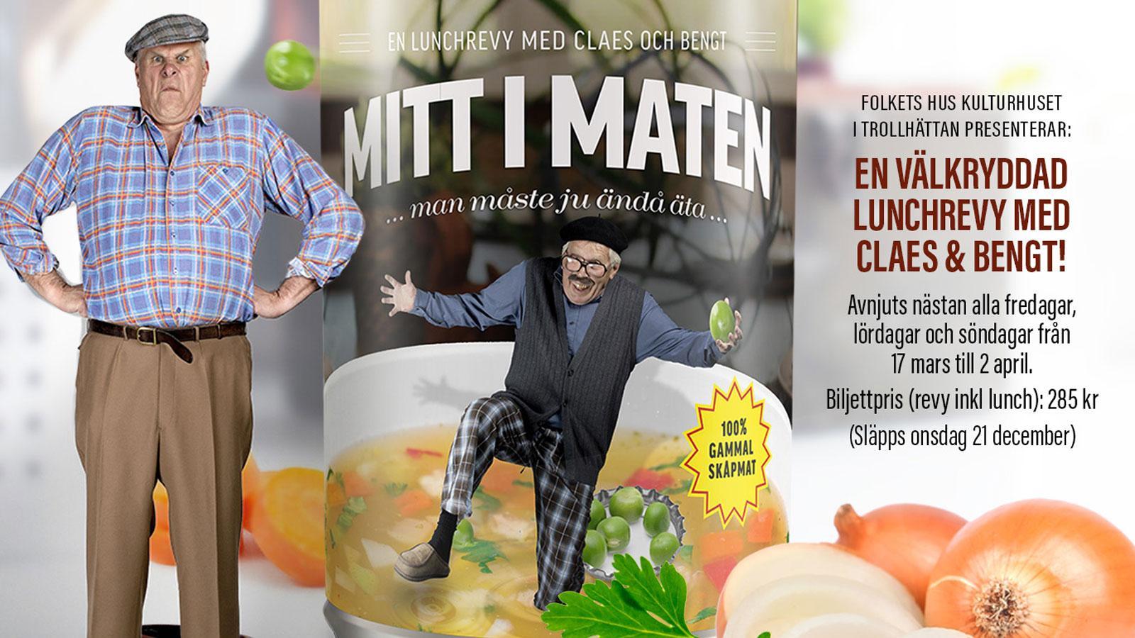 Mitt i maten – En lunchrevy med Claes & Bengt
