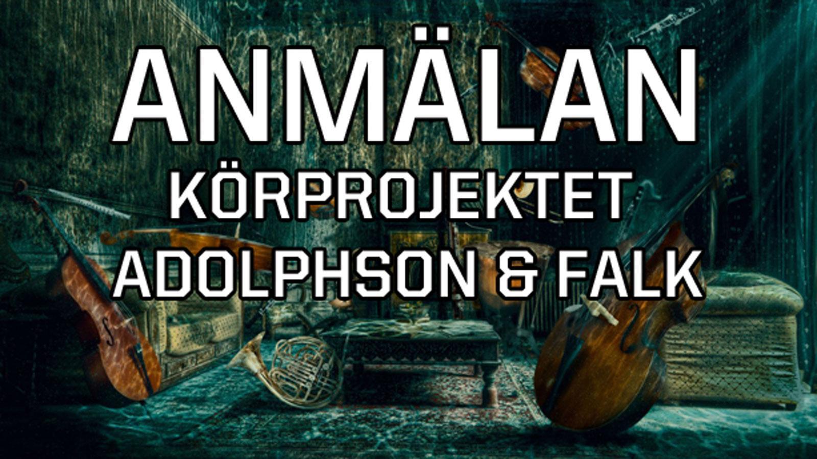 Adolphson & Falk - Anmälan