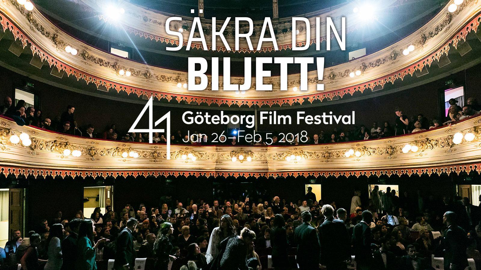 Invigning Göteborgs Filmfestival 2018