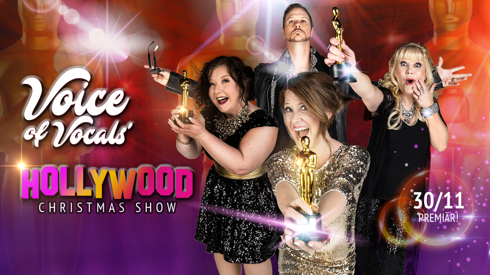 Julbord 2018 - Hollywood Christmas Show