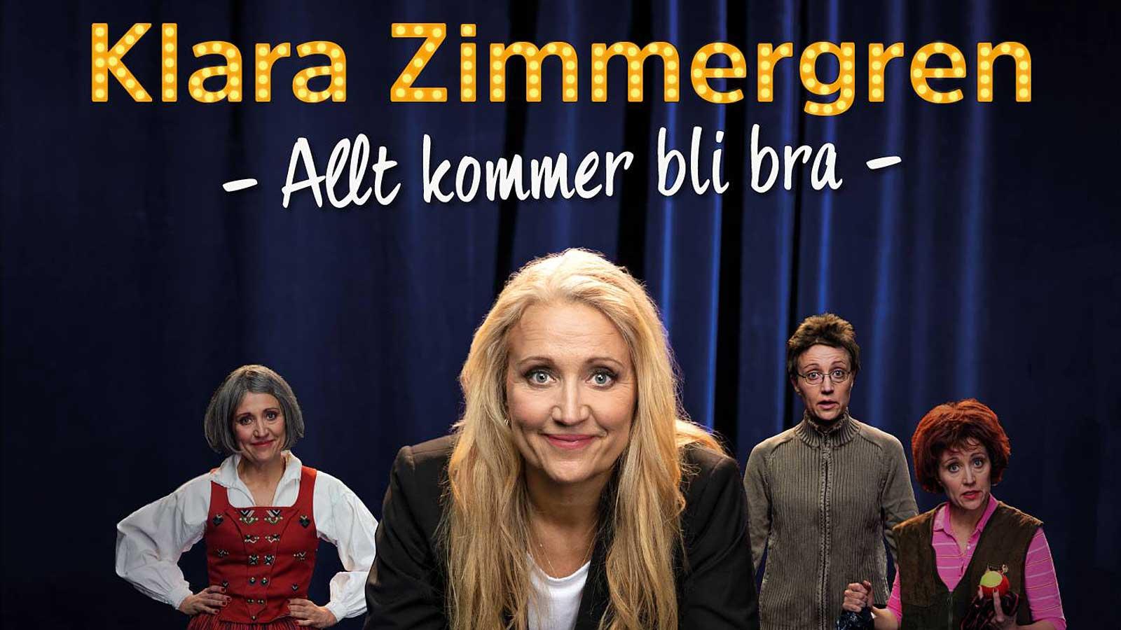 Allt kommer bli bra - Klara Zimmergren